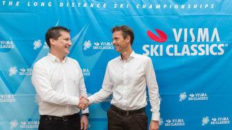 Visma blir ny titelsponsor för långloppstouren Ski Classics