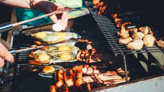 Grillstart: Påsken er en herlig tid for å ta frem grillen. Bare pass på at du griller trygt. Foto: Elkjøp Norge