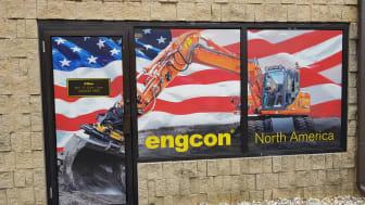 Engcons Nord-Amerika-kontor har slått opp dørene
