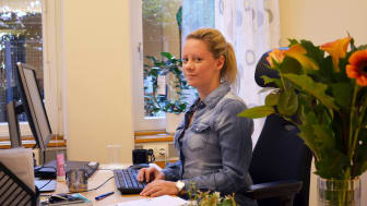 Jenny Carlbom, flyktingsamordnare på Hässleholms kommun