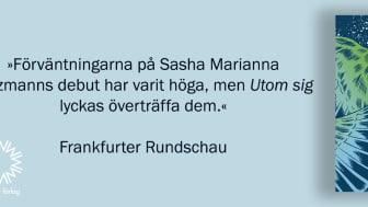 Sasha Marianna Salzmanns succédebut, nu på svenska!