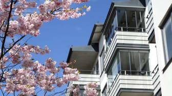 Fastighetsmäklarna spår stabilisering