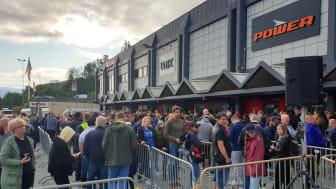 3000 besøkende tok turen til åpningen av POWERs nye butikk på Lagunen Storsenter i Bergen