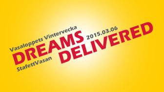 För andra året i rad levererar DHL Freight både Vasaloppet och drömmar