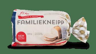 KJEMPESTOR nyhet fra Fria - Glutenfri Familiekneipp blir enda bedre