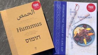 """Kokboken """"HÄVVI"""" från Sverige vinner 'Näst bäst i världen' efter världsvinnaren """"On the Hummus Route"""" från Mellanöstern."""