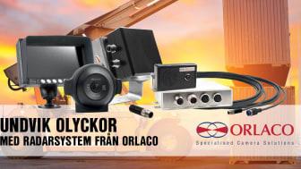 Undvik olyckor med radarsystem från Orlaco