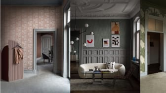 Boråstapeter launches The Apartment wallpaper collection under its new concept Studio Collection for Spring 2020