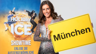 Sarah Lombardi bei HOLIDAY ON ICE in München