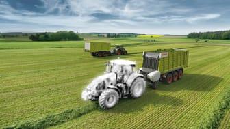 Nyt koncept: Danish Agro Machinery og CLAAS udlejer traktorer i Danmark