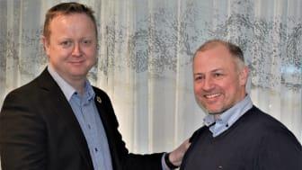 Jesper Buch och René Tofte