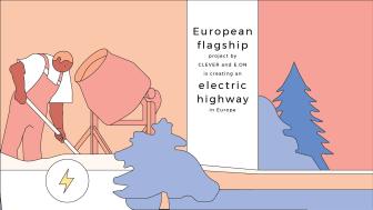 De nya laddstationerna gör det möjligt att köra elbil från Norge till Italien