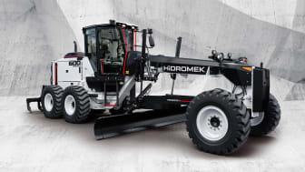 Hidromek HMK 600 MG visas av Abandon AB på årets MaskinExpo.