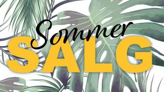 Sommersalget er i gang!