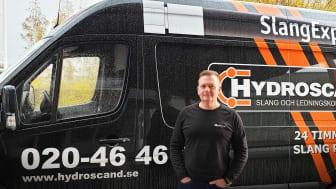 Niklas Augustsson, regionchef sydost på Hydroscand.