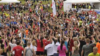 Deltagarrekord: över 20 000 personer springer för blodgivningen i Stockholm