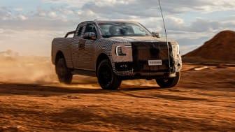 Gjør deg klar for neste generasjon Ford Ranger!