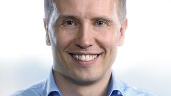 Visma Solutions Oy:n toimitusjohtaja Ari-Pekka Salovaara on Vuoden Nuori Menestyjä 2018