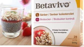 Sugen på en hälsosam frukost? Prova Betavivotoppad chiapudding med jordgubbspuré.