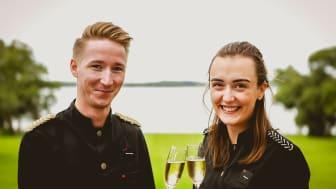 Den 18 september åker Mattias Löfgren och Shannon Loyd till Champagne för premiärskörden av druvorna till Krägga Herrgårds egen champagne.