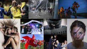 120 bilder visas i DN:s hittills största utställning - på Arbetets museum i Norrköping.