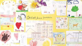 Klasse 4e der Christoph-Arnold Grundschule in Leipzig spendet für Bärenherz