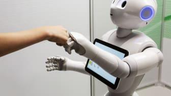 Dags att säga hej då till robotarna på Tekniska.