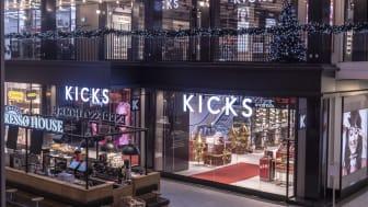 KICKS slår upp portarna till ny Flagship Store i Gallerian i Stockholm - den största butikssatsningen i företagets historia