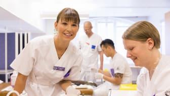 Sjuksköterskestudent