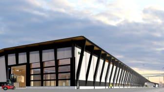 Arkitektbolaget har ritat Södras andra anläggning för korslimmat trä.