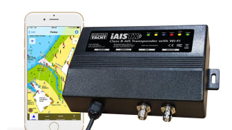 iAISTX - A new wireless Class B AIS transponder for tablet and iPad navigation
