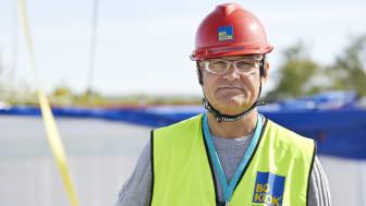 Jonas Spangenberg, VD BoKlok