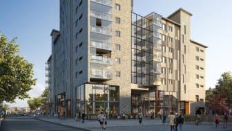 Säljstart för Riksbyggens Brf Kronhöjden – Partilles nya landmärke