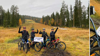 Iso-Syötteellä maastopyöräiltiin nuorten paraurheilijoiden hyväksi