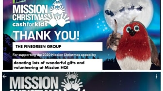 *Mission Christmas Cash for Kids Update*