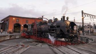 SL Taiju Steam Locomotive (Railway Turntable)