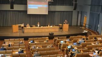 Regionfullmäktige i Dalarna sammanträder idag klockan 13.15 i Kristinehallen i Falun.