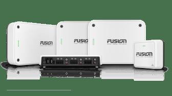 Für hochwertigen Klang an Bord: die neuen Fusion Apollo Marineverstärker als Monoblock- oder Multi-Kanal-Verstärker.