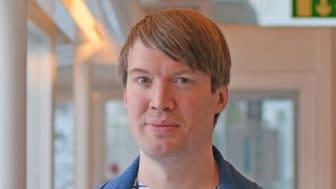 Daniel Fredriksson, Sociologiska institutionen. foto Leila Zoubir Stockholms universitet.jpg