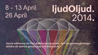 Nu börjar ljudOljud 2014: Kungl. Musikhögskolans studenter bjuder in till festival för nyskriven och klassisk musik!