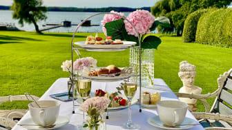 Höstens smaker gör entré. Också på vårt afternoon tea. Serveras i herrgården lördagar från kl 13.00.