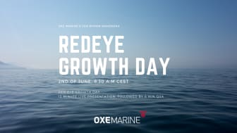 Sign up for the Redeye Growth Day live broadcast, June 2nd 08.30CEST.