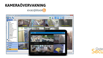 Kameraövervakning: Toppfunktioner i exacqVision