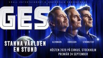 GES tar sin krogshow vidare till Cirkus i Stockholm efter slutsålda hus i Göteborg