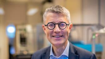 Fredrik Elinder, professor i molekylär neurobiologi, är 2021 års mottagare av Onkel Adams pris för framstående forskning vid Medicinska fakulteten. Foto: Magnus Johansson/Linköpings universitet