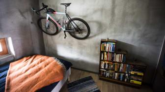 Ohboy är på många sätt anpassat efter en  cykelburen livsstil. Foto: Mattias de Frumerie/Byggindustrin