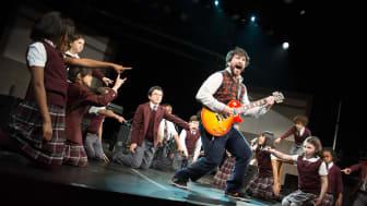 School of Rock - The Musical, bild från Broadway originalversion