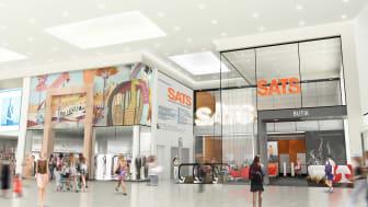 SATS öppnar nytt träningscenter i Täby