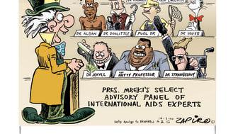 """Jonathan """"Zapiro"""" Shapiro"""