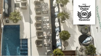 The hotel consists of 45 uniquely and personal designed rooms in the center of the vibrating quarters of El Terreno overlooking the great harbor, with rooftop sun terrace and outdoor pool.